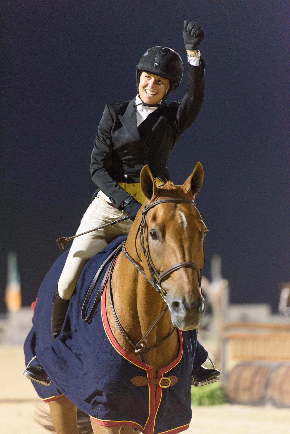 Liza Boyd was invited to compete at this year's Central Park Horse Show