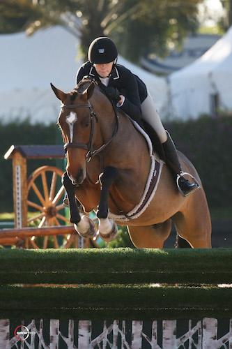 Stella Styslinger and O'Ryan (Sportfot Photo)