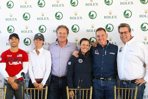 Press conference attendees included: Kent Farrington, Liza Boyd, Mark Bellissimo, Kasey-Perry Glass, Allyn Mann and Thomas Baur.