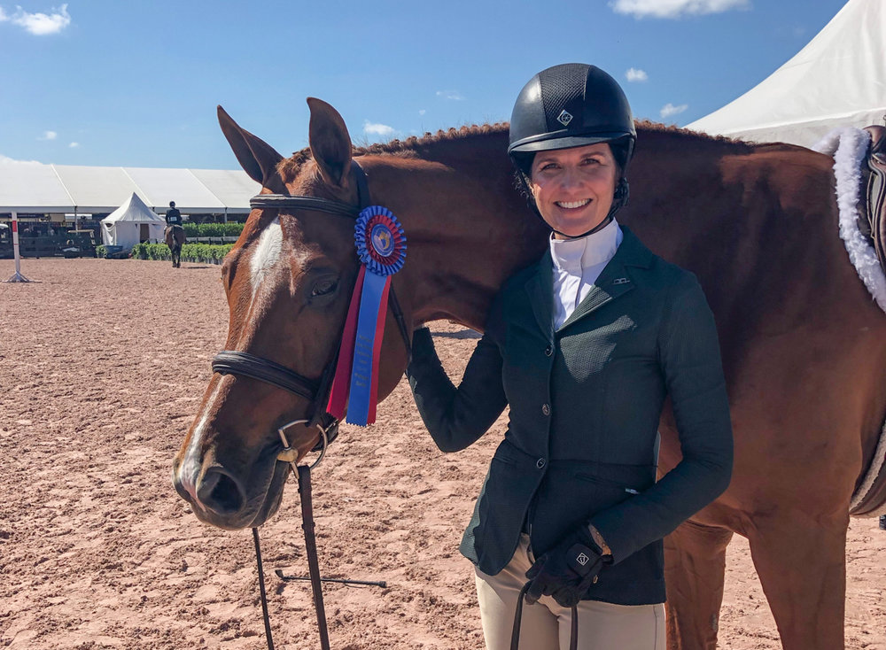 Paige Miller with Shamrock