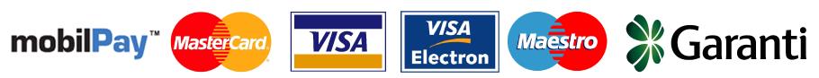 MobilPay MasterCard Visa Visa Electron Garanti