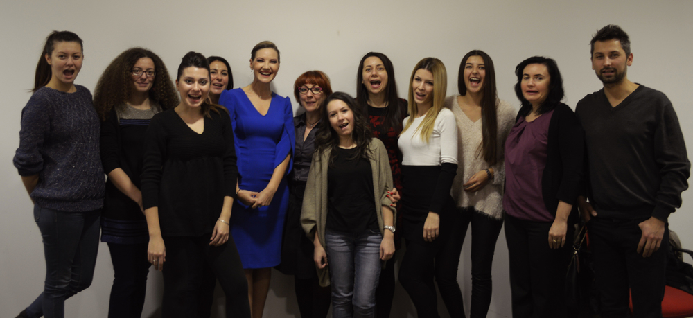 Participanții din grupa nr.27. Noiembrie 2014