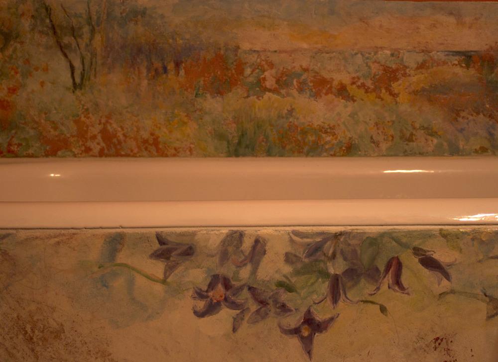 Impressionist Floral, Close Up