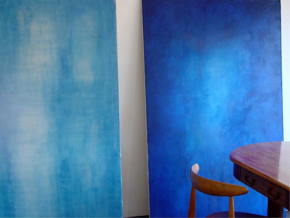 Blue Paintings