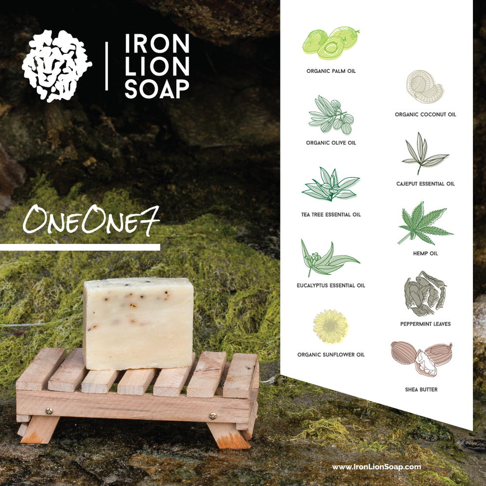 ILS Natural Soap Shop - Eucalyptus/Olive Oil