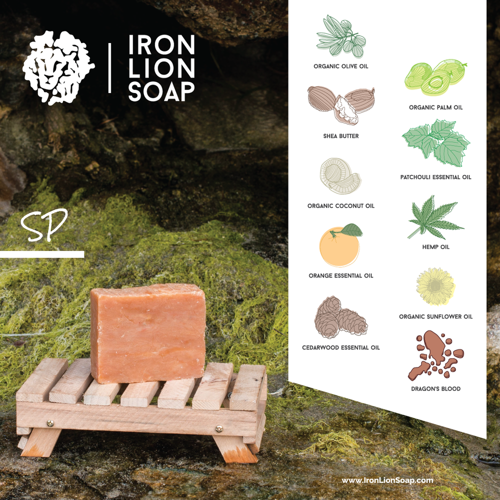 ILS Natural Soap Shop - Dragonsblood/Patchouli