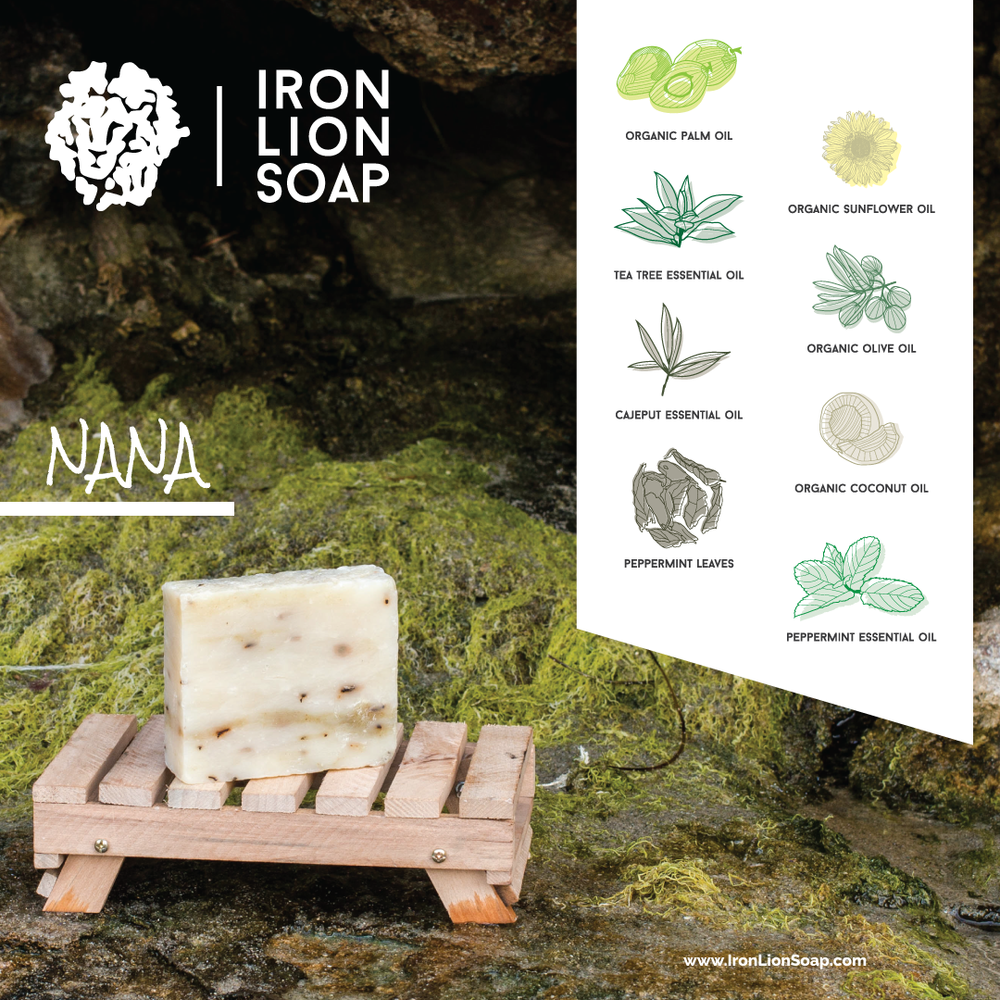 ILS Natural Soap Shop - Peppermint/Cajeput Oil