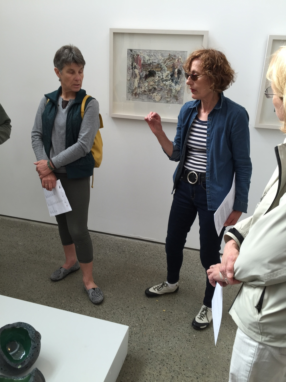 Kathleen Standen at Uillinn West Cork Art Center, taking us on a walk through of this provocative exhibition.