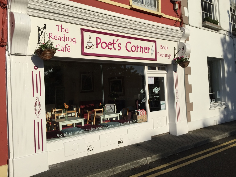 Book shop in Kinsale.