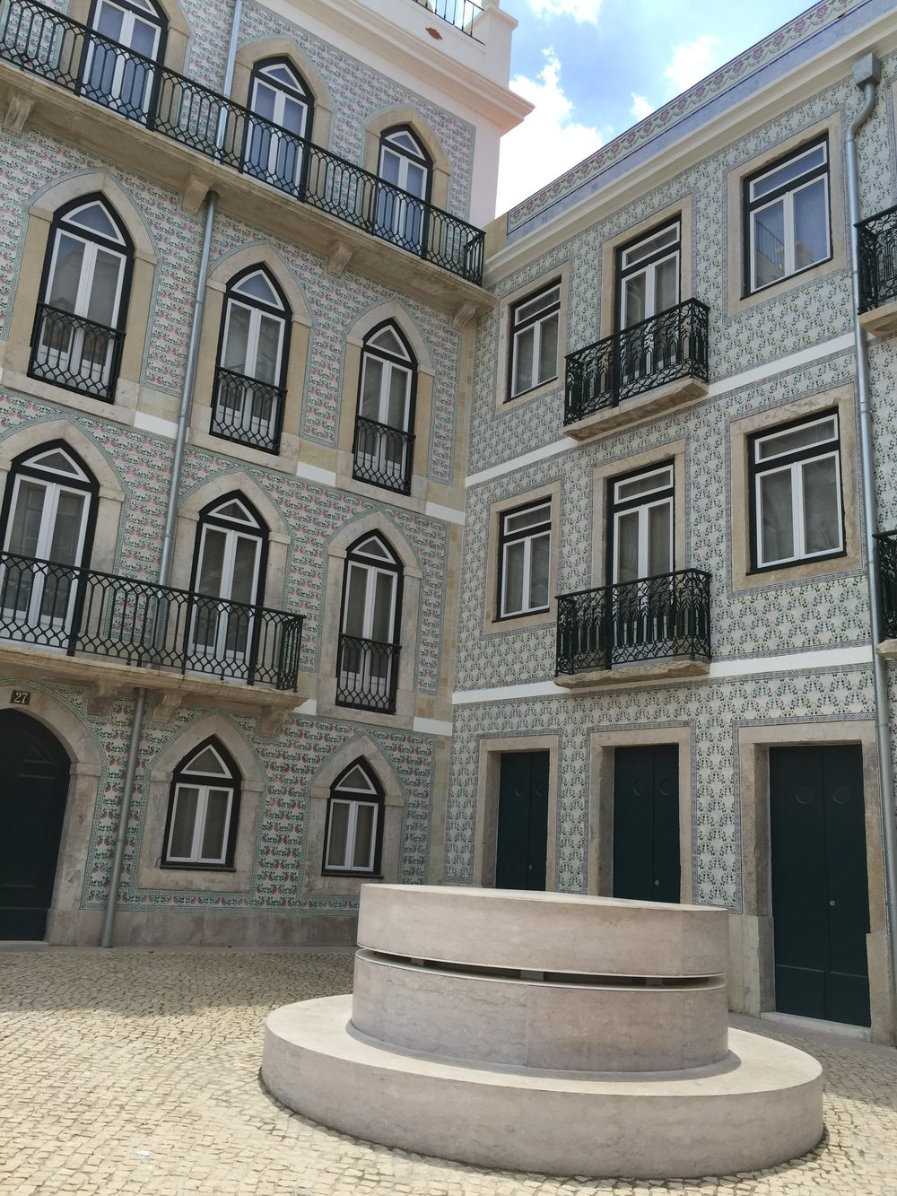 Tiled building in Alfama