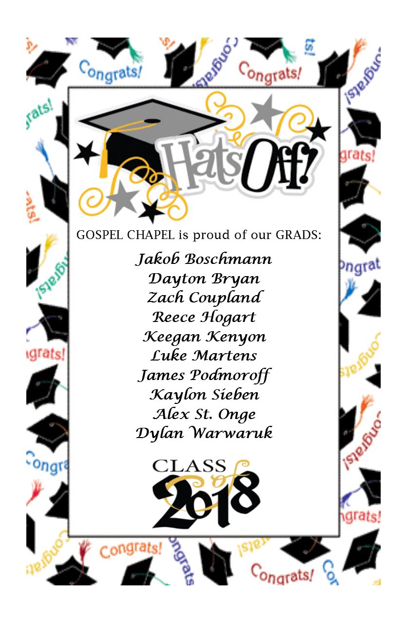 Gospel Chapel Graduates 2018 - one page.jpg