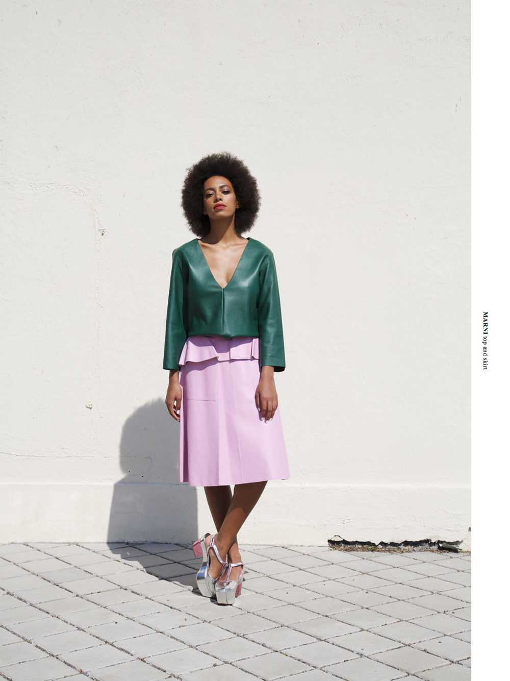 solange knowles work for brooklyn magazine by io tillet wright in greenpoint