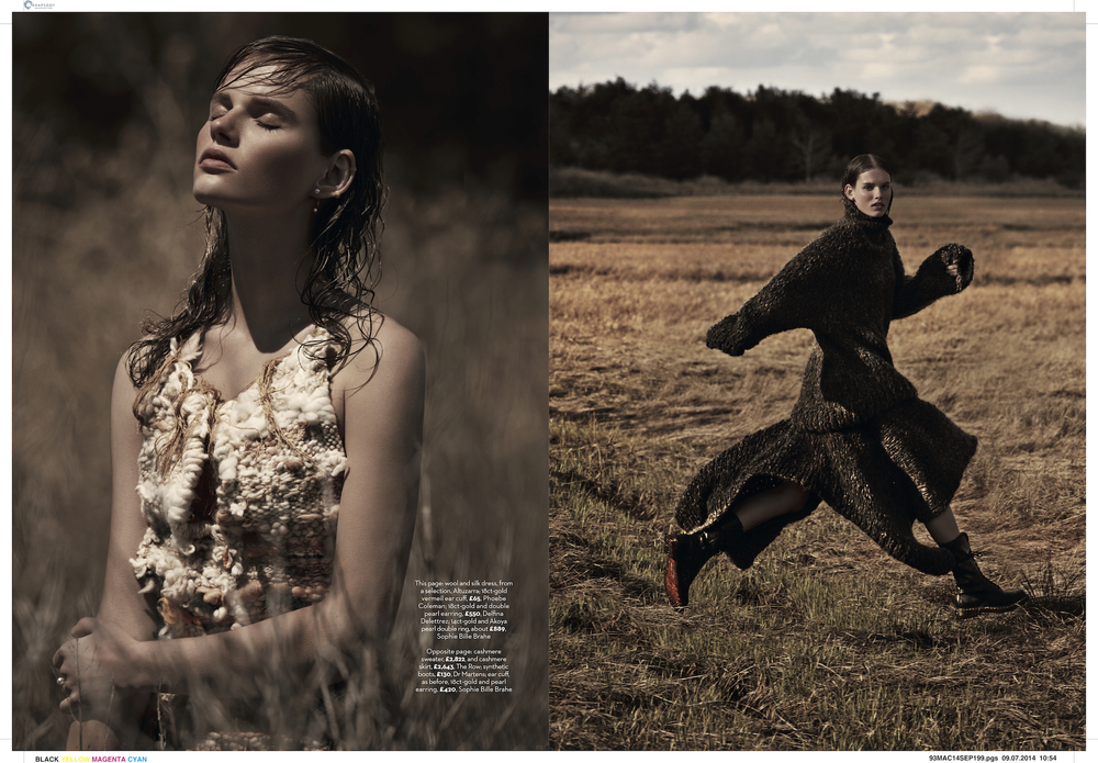 marie claire uk photo shoot by james macari and county fair productions in the hamptons 4