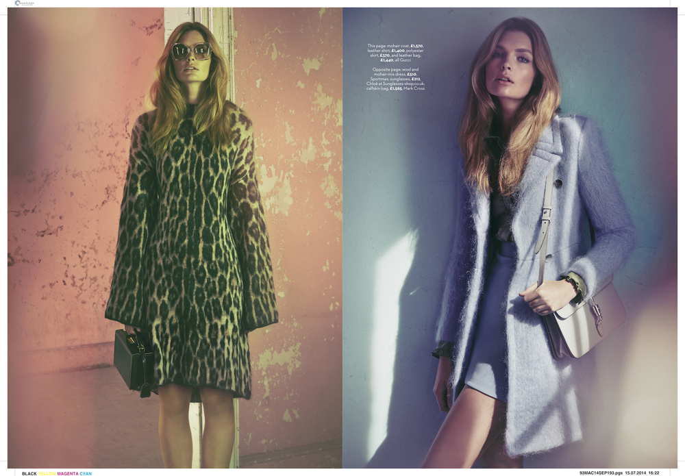 marie claire uk photo shoot of tiffany fraser steele by james macari 4