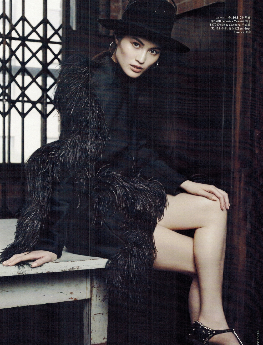sui he on vogue australia photo shoot by benny horne and county fair productions 1