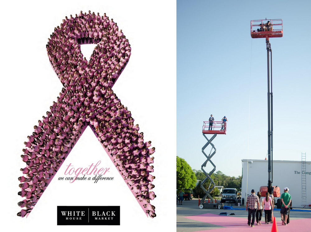 pink ribbon for white house black market and lbbc event
