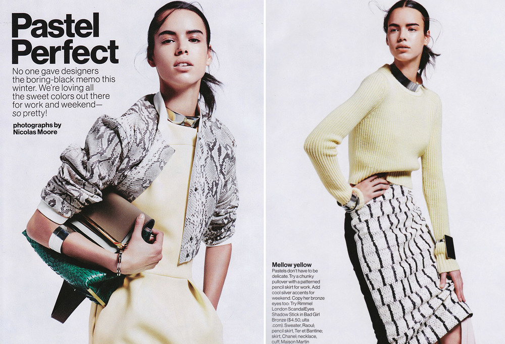 hind sahli photos for glamour magazine by photographer nicolas moore 3