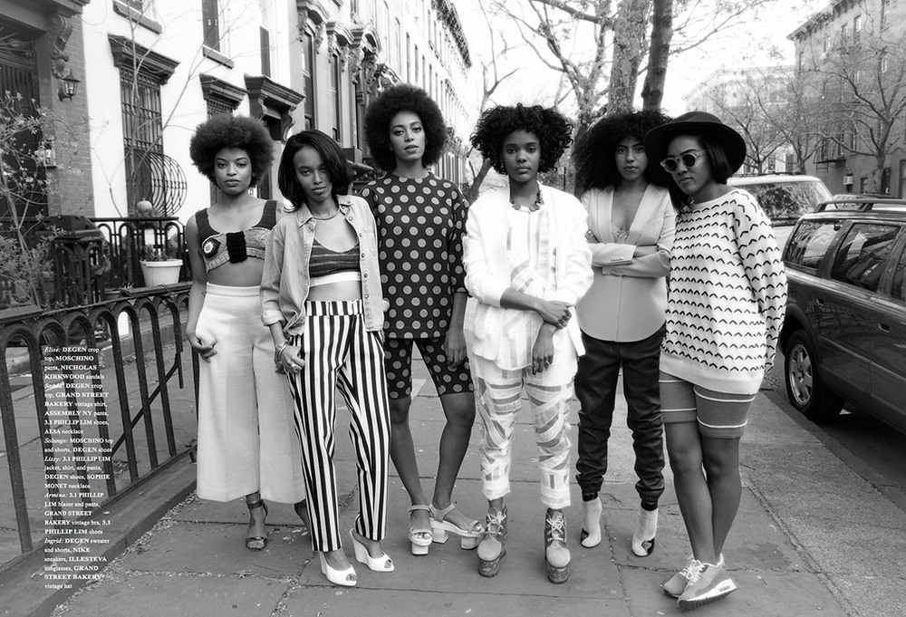 solange knowles work for brooklyn magazine by io tillet wright friends