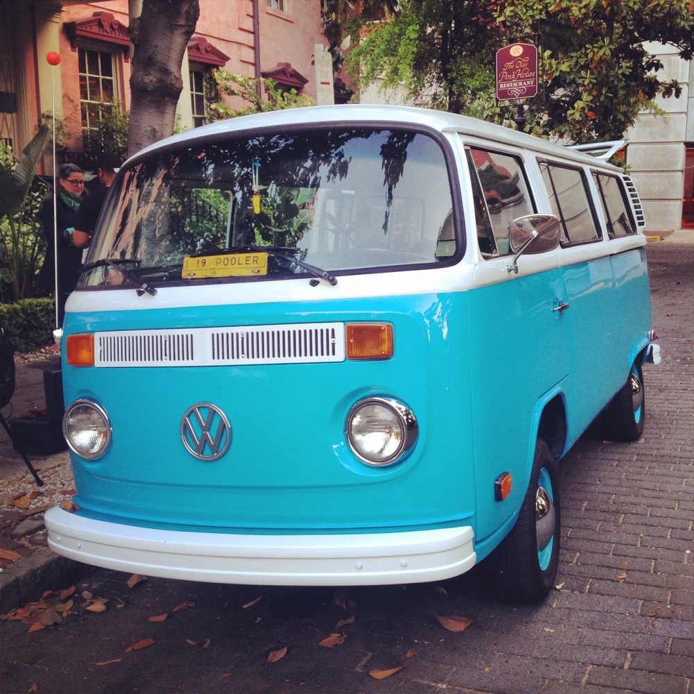 anthropologie in savannah vintage vw bus pooler is cooler