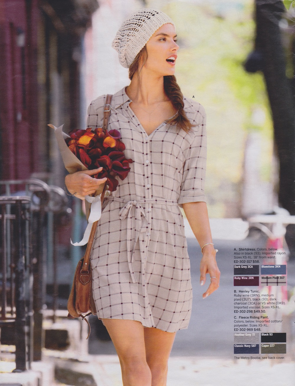 photo shoot on the streets of brooklyn with victorias secret and alessandra ambrosio and flowers