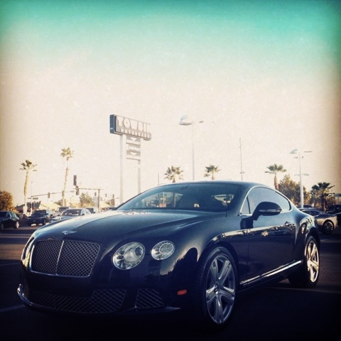 bentley in las vegas by county fair productions