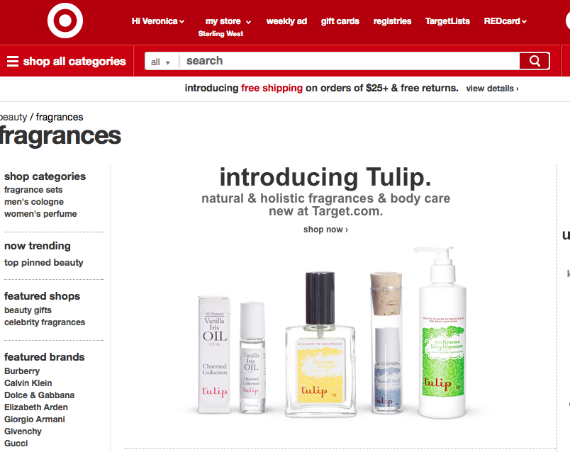 Introducing Tulip On Target.com