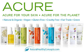 beautiful products by acure!
