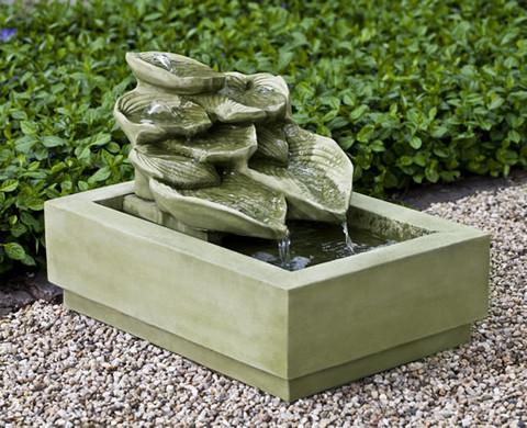 Cascading Hosta Fountain