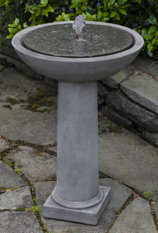 Cirrus Birdbath Fountain
