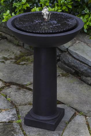 Equinox Birdbath Fountain