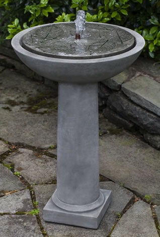 Hydrangea Leaves Fountain