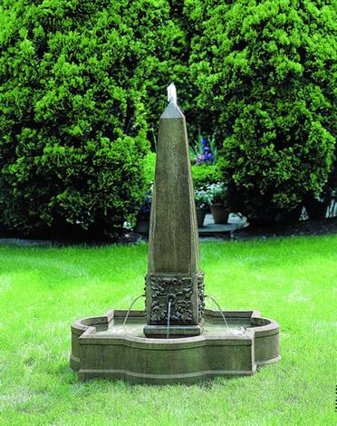 Palazzo Obelisk Fountain