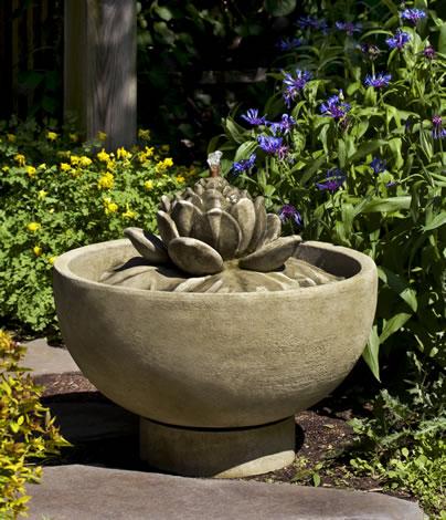Smithsonian Lotus Fountain $715