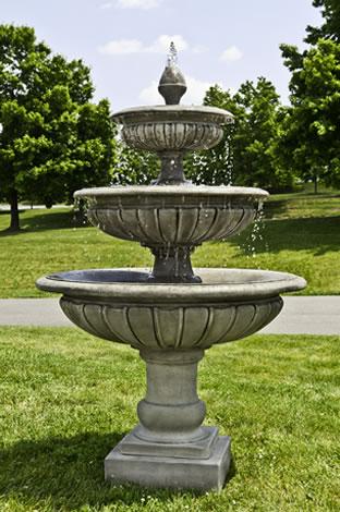Three-Tiered Longvue Fountain