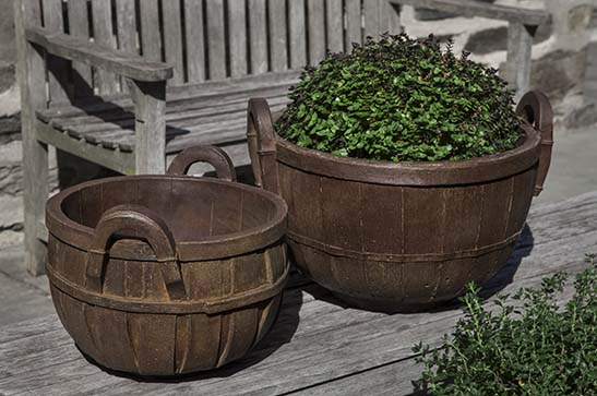 Apple Basket Planter, Large $245