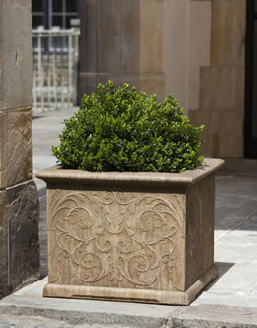 Arabesque Square Planter $480