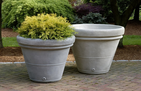 Estate Rolled Rim Medium Planter $590