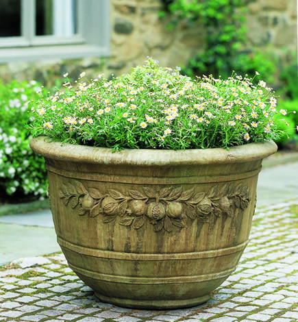 Round Pomegranate Planter $770