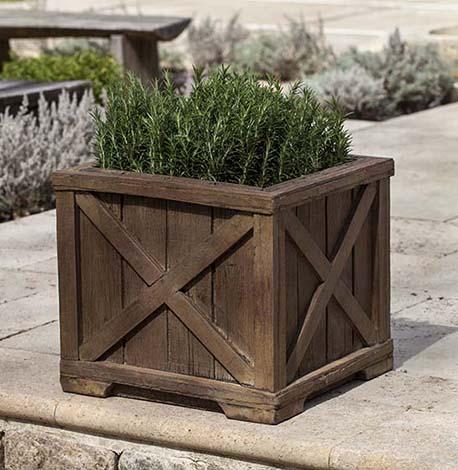 Rustic Versailles Planter $370