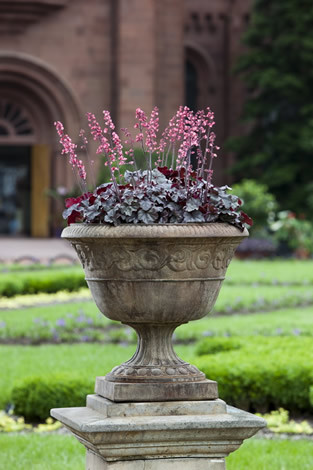 Smithsonian Foliated Scroll Urn $245