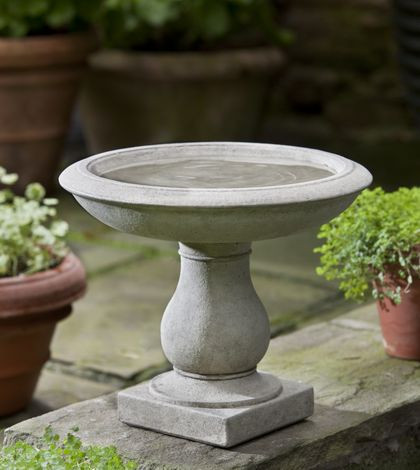 Beauvoir Birdbath