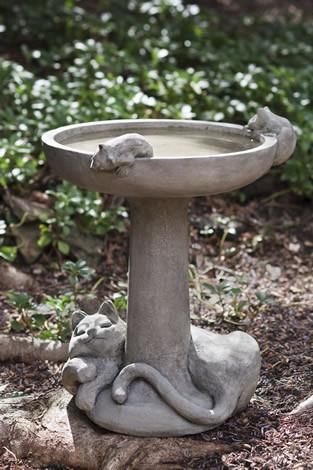 Catnap Birdbath