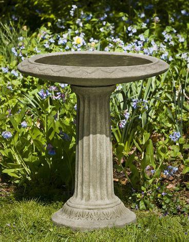 Cottage Garden Birdbath