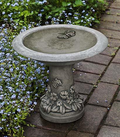 Spring Meadow Birdbath $94.95