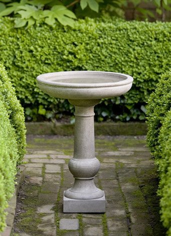 Williamsburg Tea Table Birdbath $210