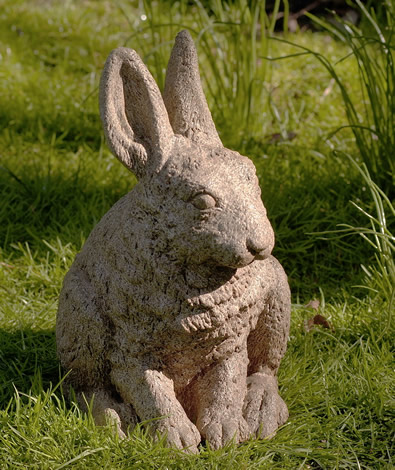 Hare Seated with Ears Up