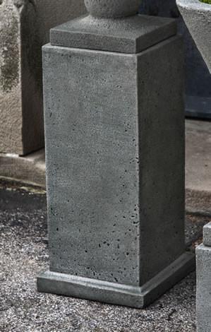 Tall Rustic Mini Pedestal
