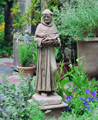 St. Francis with Shell