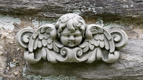 Williamsburg Cherub Plaque