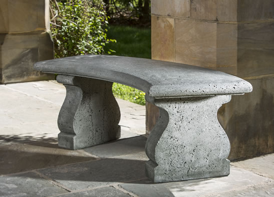 Provencal Curved Bench